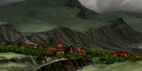 Yon Rha's village