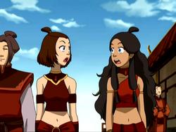 Suki and Katara
