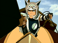 Sokka leads the Invasion