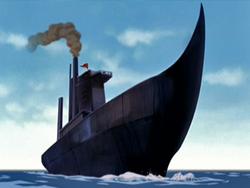 Zuko's ship