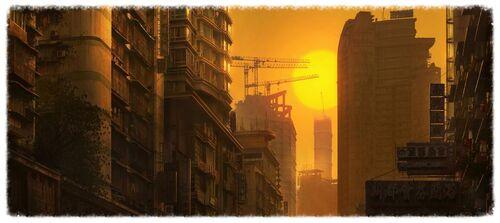 High rise flats
