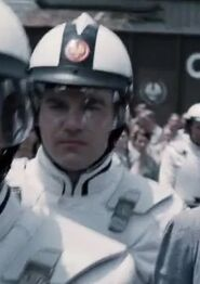 Anthony Reynolds as Peacekeeper 2