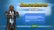 Character Recruited! Nick Fury