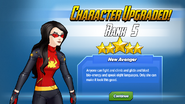 Character Upgraded Rank 5 Spider-Woman