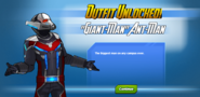 Outfit Unlocked Giant-Man Ant-Man