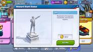 Howard Stark Statue