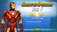 Character Upgraded Rank 5 Iron Man