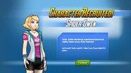 Character Recruited! Spider-Gwen