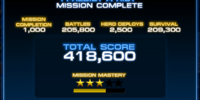 Mission Score