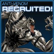 Anti-Venom Recruited