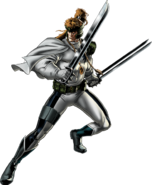 Shatterstar Right Portrait Art