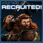 Volstagg Recruited