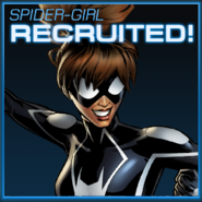 Spider-Girl Recruited
