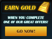 Promotions-Earn Gold