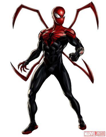 File:Superior Spider-Man Portrait Art.jpg