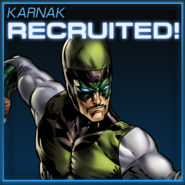 Karnak Recruited