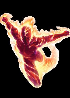 Human Torch Marvel XP