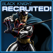 Black Knight Recruited