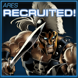 Ares Recruited