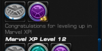 Marvel XP Rewards