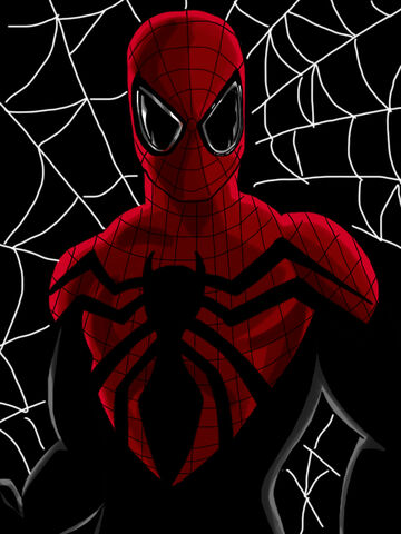 File:Superior spider man full digital art new suit by chrismas 81-d70bgww.jpg
