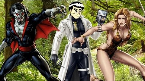 PVP 27 SHANNA MORBIUS. Marvel Avengers Alliance Agent Agente ANNHE Friki