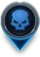 Low Threat Map Icon