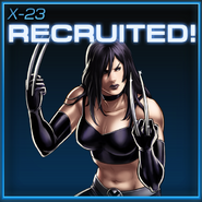 X-23 Recruited