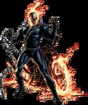 Ghost Rider Portrait Art