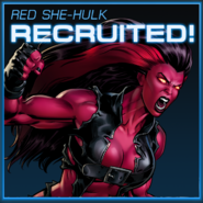 Red She-Hulk Recruited