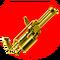 Golden Batstone 2.357 Minigun