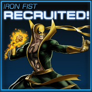 Iron Fist Recruited