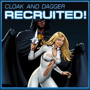 Cloak and Dagger Recruited