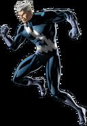 Blue Costume Quicksilver Right Portrait Art