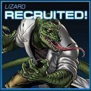 Lizard Recruited