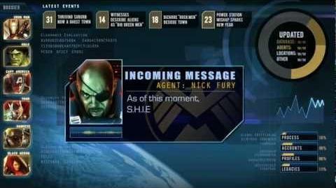 Marvel XP Briefing 1