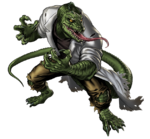 Lizard Hero Portrait Art