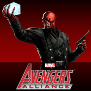 Red Skull Defeated