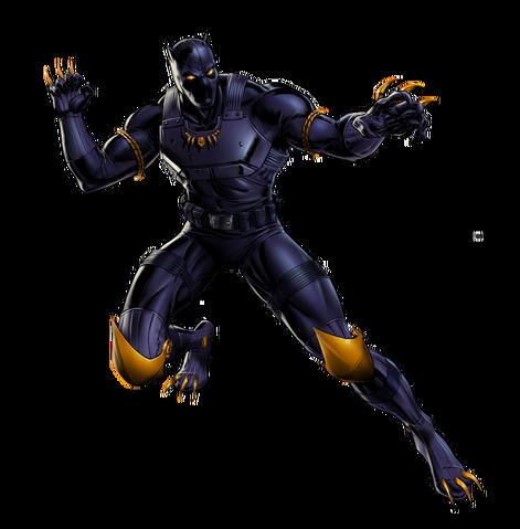 File:Black Panther Urban Jungle Portrait Art.png