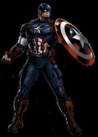 File:Avengers Age of Ultron Captain America Portrait Art.png