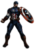Avengers Age of Ultron Captain America Portrait Art