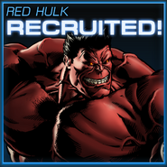 Red Hulk Recruited