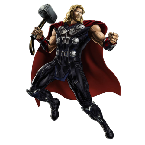 File:Avengers- Age of Ultron Thor Portrait Art.png