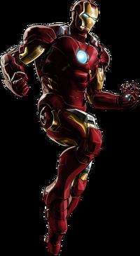 Iron Man Portrait Art