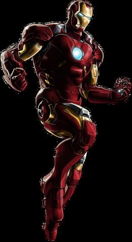 File:Iron Man Portrait Art.png