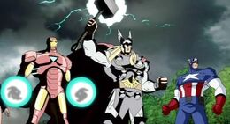 Iron-Man,ThorandCap