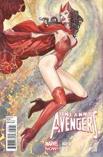 Uncanny Avengers Vol 1 2 Milo Manara Variant