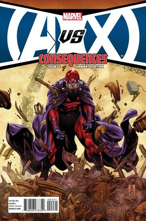 Avengers vs X-Men Consequences Vol 1 4 Magneto Variant