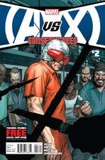 Avengers vs X-Men Consequences Vol 1 2 Regular cover