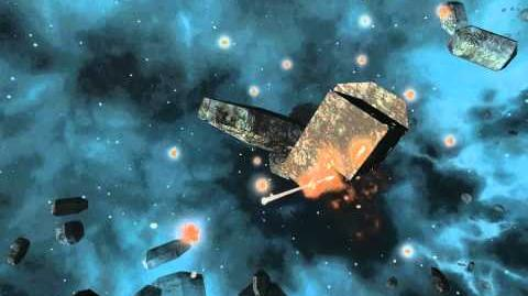 Avorion Dev Footage Flybys, Booster and Mining